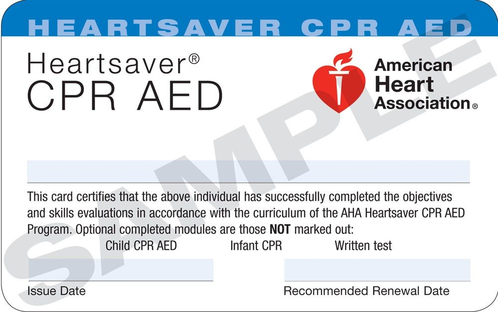 Rohnert Park Cpr American Heart Association Courses In Marin County