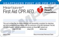 American Heart Association CPR and First-aid Renewal