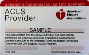 ACLS Courses in Marin County