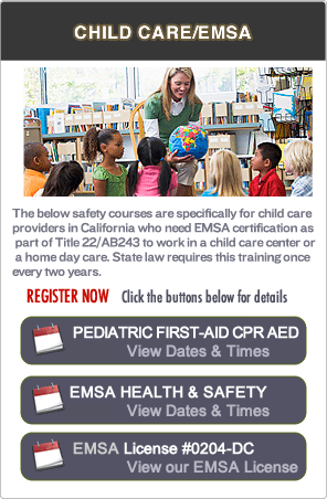 Marin County Pediatric First-aid