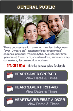 CPR and First-aid Classes in Marin County